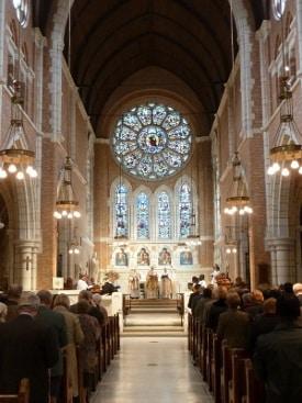 Interior, St Boniface Anglican Church, Antwerp